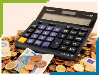 Calculator Accountant Financial