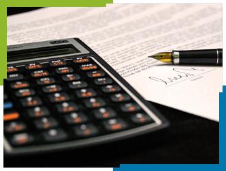 Calculator Pen Accountant Belastingadviseur