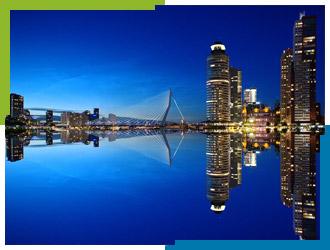 direct accountants the Netherlands Holland Rotterdam Erasmus bridge