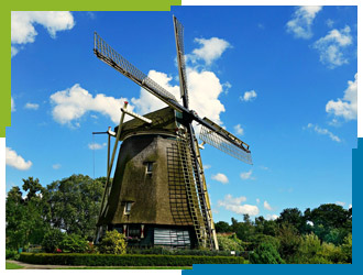 direct accountants Netherlands Holland windmill