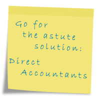 Post-it note Direct Accountants
